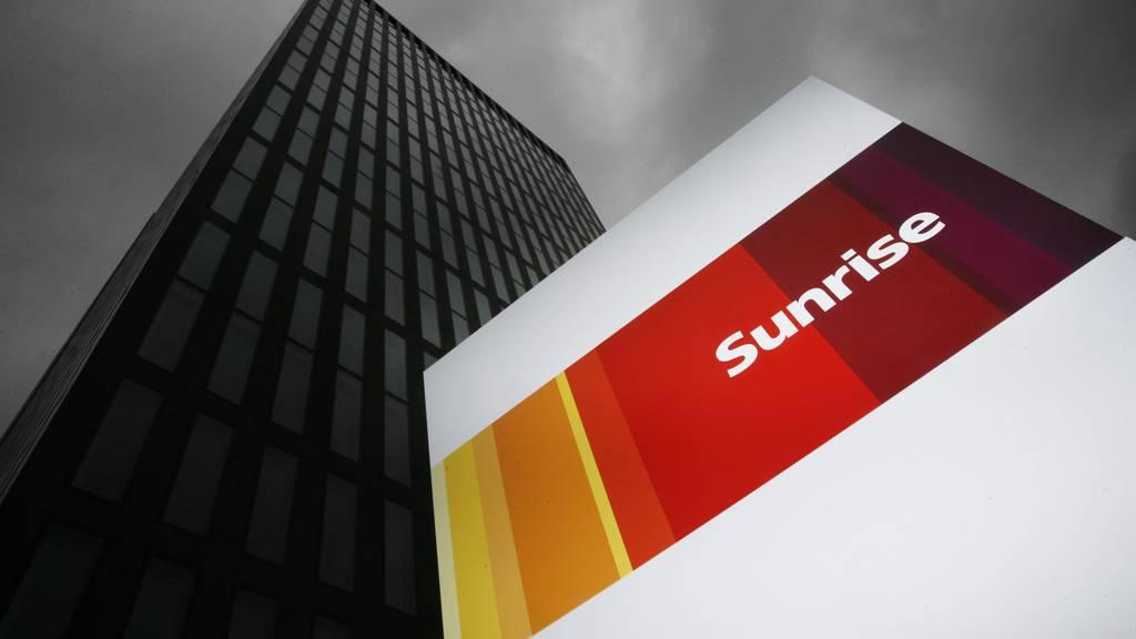 Sunrise legt bei Umsatz und Gewinn zu