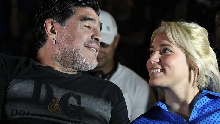 Bald unter der Haube: Diego Maradona und seine Freundin Rocio Oliva