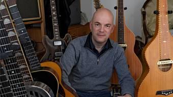 Lautenist und Gitarrist Christoph Greuter hat eine neue CD eingespielt.