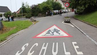 Die Oberstufe Stetten gehört zum Schulverband Reusstal. Andrea Weibel