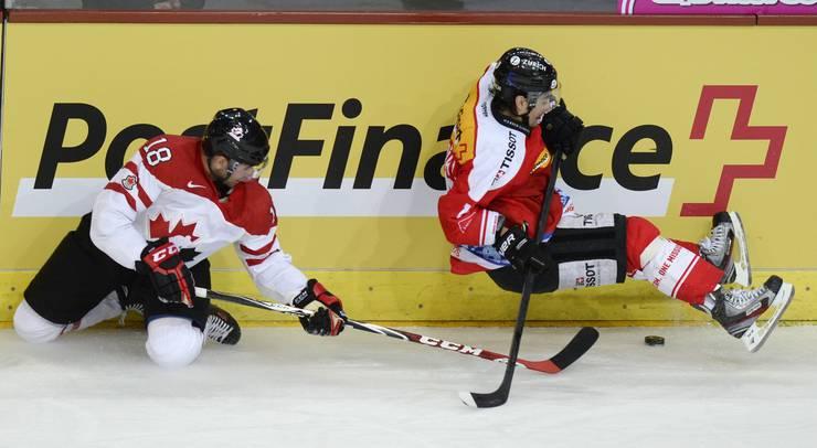 Die Schweizer rutschen aus und verlieren das Spiel klar mit 0:4