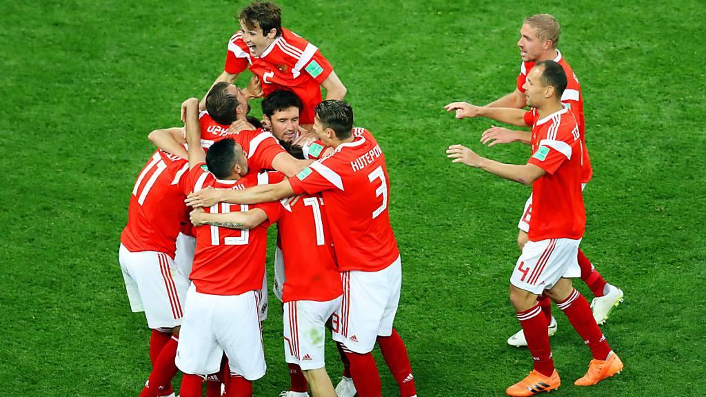 Aufbruchstimmung im russischen Fussball