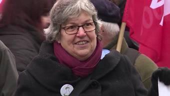 Elisabeth Abbassi kämpfte an vorderster Front gegen die Bildungssparpläne der Aargauer Regierung. Die grosse Mobilisierung hat sich ausbezahlt, der Grosse Rat machte den Sparplänen einen Strich durch die Rechnung.