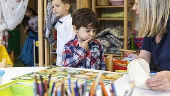 Besuch im Vorkindergarten Zuchwil