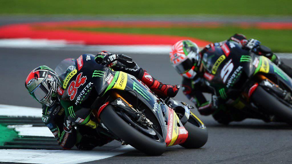 Jonas Folger (Nr. 94) musste ein Jahr lang auf MotoGP-Einsätze verzichten
