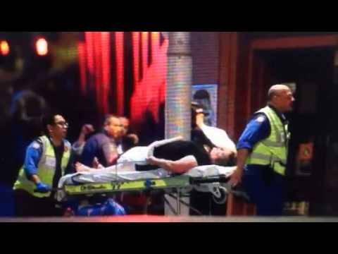 Schüsse hallen durch die Strassen Sydneys, als die Polizei das Café stürmt