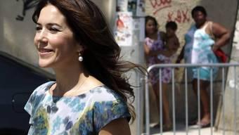 Blaublüterin bei den heissblütigen Brasilianern: Prinzessin Mary in Rio