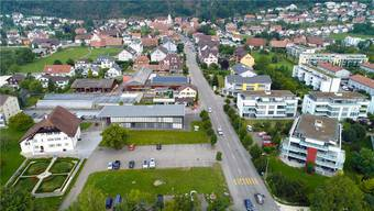 Als Standort ist der Platz bei der alten Mühle (unten links) vorgesehen.Bruno Kissling