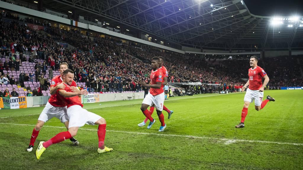 Ein wichtiger Sieg für die Schweiz – 2:0 gegen Irland
