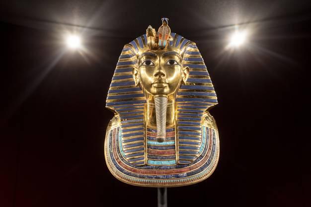 Die berühmte Gesichtsmaske des Tutanchamun.
