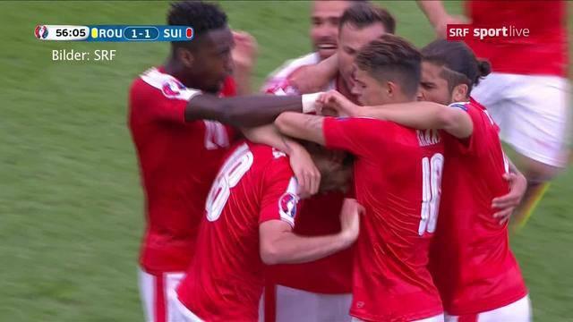 Schweiz - Rumänien geht Unentschieden aus