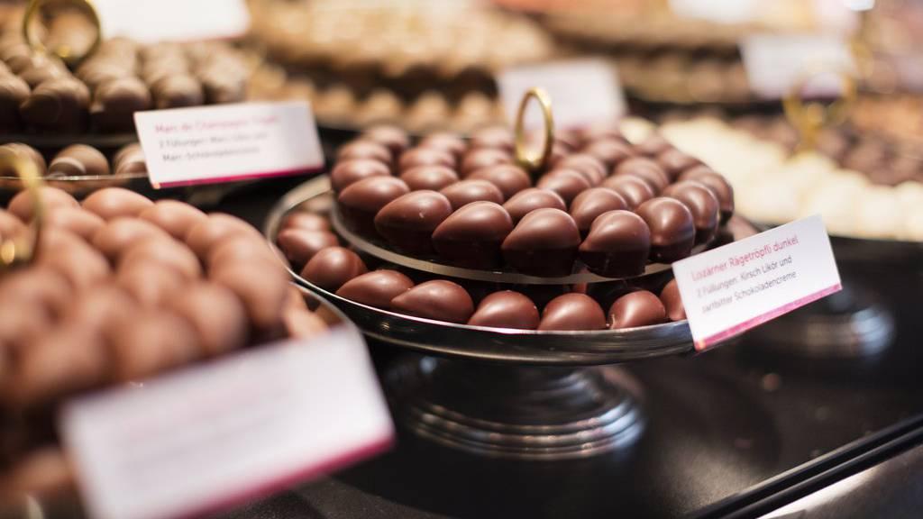 Schokolade ist immer eine Versuchung wert.