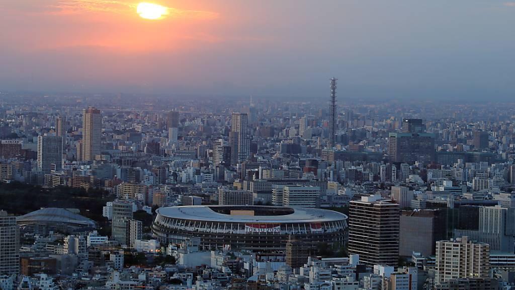Tokio wird wegen Corona eine spezielle Eröffnungsfeier mit kaum Zuschauern erleben