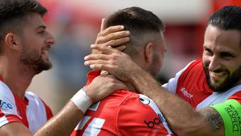 FC Solothurn gegen den FC Langenthal 22.August 2020