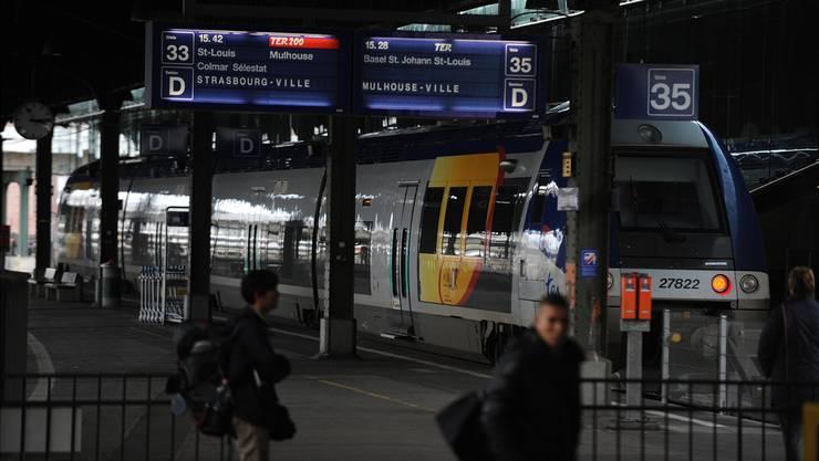 Die  grenzüberschreitende S-Bahn-Linie nach Mulhouse  wird nicht verlängert.