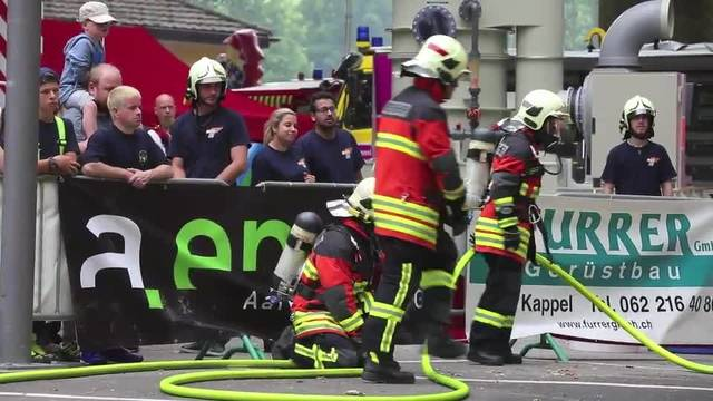 Die Feuerwehr Olten feiert ihr 200. Jubiläum mit zahlreichen Attraktionen