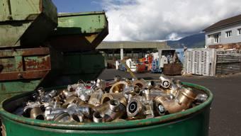 Die Almeta Recycling AG will ihre Anlage neu strukturieren.