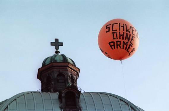 «Verrat der humanitären Tradition der Schweiz»: Die Gsoa ist wenig erfreut über die Lockerung des Verbots.