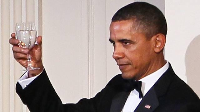 US-Präsident Barack Obama beim Staatsbankett