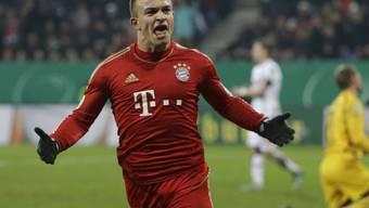 FC Bayern-Spieler Xherdan Shaqiri im Einsatz (Archiv)