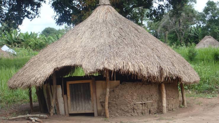Das lokale Gesundheitszentrum, welches Donselaar bei einem ihrer Auslandeinsätze angetroffen hat.
