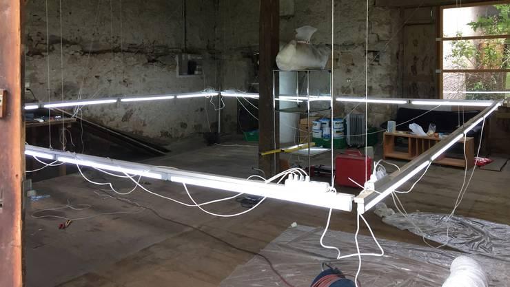 Der alte Schopf in Densbüren wird zum Kunstraum.