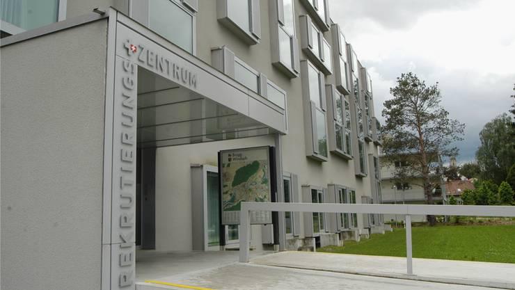 Der Betrieb im Rekrutierungszentrum in Windisch ist 2003 aufgenommen worden.wal/Archiv az