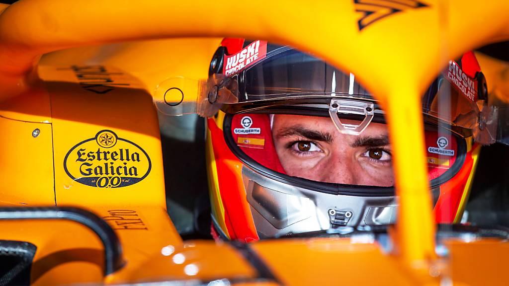 Der Spanier Carlos Sainz wird im Grand Prix von Australien nicht dabei sein.