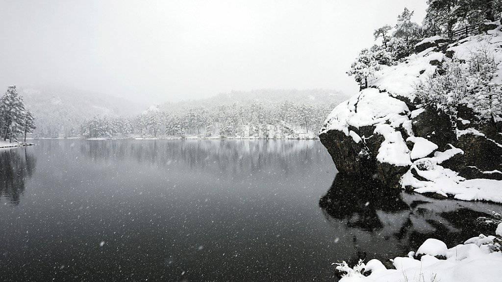 60 Zentimeter Neuschnee zu Sommerbeginn in den USA