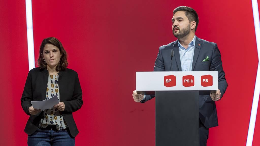 Jetzt ist es offiziell: Mattea Meyer und Cédric Wermuth sind die neuen SP-Präsidenten