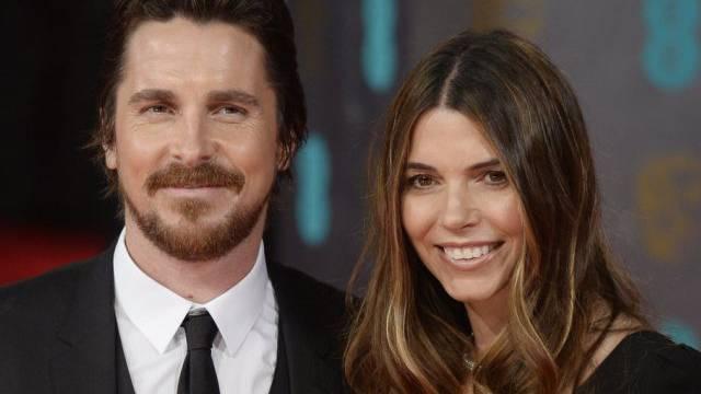 Christian Bale und Sibi Blai (Archivbild)