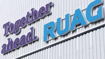 Der Bund will sich von seinen Anteilen am internationalen Geschäft der Ruag trennen. (Themenbild)