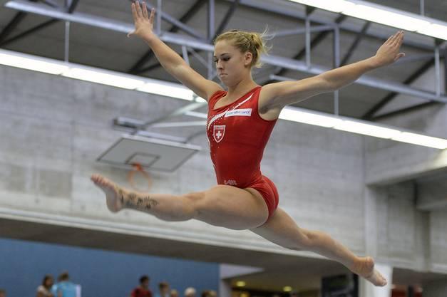 Giulia Steingruber, die Schweizer Teamleaderin.