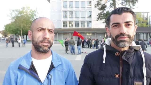 Kundgebung der Kurden in Solothurn