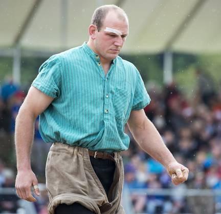 Bruno Gisler: Er nimmt als Titelverteidiger am 112. Aargauer Kantonalschwingfest teil.