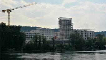 Die Wohnungen im Salmenpark mit Rheinblick sind begehrt. Archiv/Nadine Böni