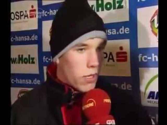 Interview mit Lukas Podolski
