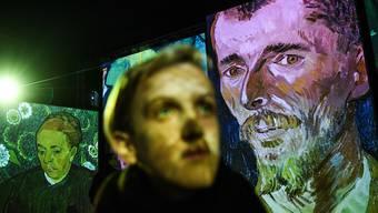 """Die multimediale Ausstellung """"Van Gogh Alive - The Experience"""" macht erstmals in der Schweiz halt."""