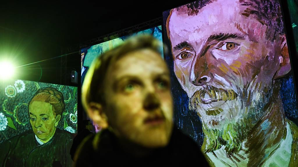 Die multimediale Ausstellung «Van Gogh Alive - The Experience» macht erstmals in der Schweiz halt.