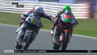 Im Tempo von 200 km/h zog Fenati seinem Gegner an der Bremse.