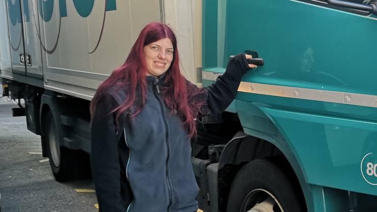 «Es hat weniger Verkehr»: Sarah Friedli am Mittwoch in Rombach