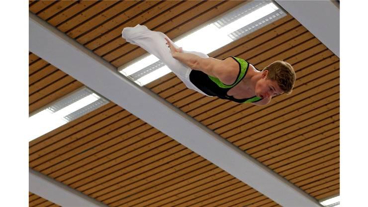 Janik Hufschmid (STV Moeriken-Wildegg) mit hervorragender Leistung.
