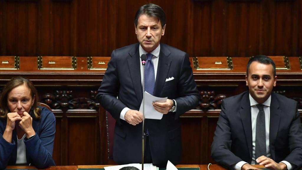 Regierung Conte gewinnt Vertrauensabstimmung im Abgeordnetenhaus