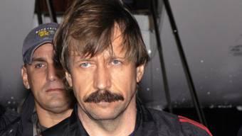 Viktor Bout wurde in allen Anklagepunkten für schuldig befunden (Archiv)