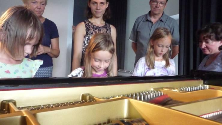 Im Rahmen des Festivals Junge Klassik sorgte das Kinderkonzert für ein volles Haus im Schlössle. Brigitte Chymo