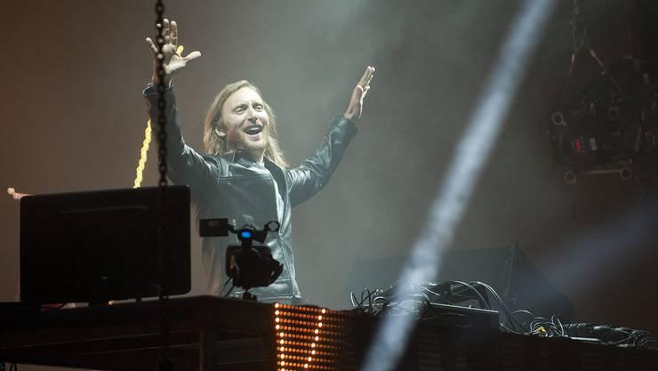 Der französische House-DJ David Guetta ist unbestrittener Hauptact am dreitägigen «Isle of Dreams»-Festival auf dem St. Jakobareal. Keystone