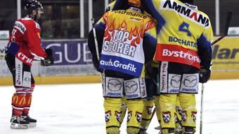 Vor zehn Jahren bejubelte der SC Langenthal letztmals den Qualifikationssieg in der NLB-Meisterschaft - und schied anschliessend in den Playoffs in den Viertelfinals aus...