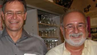 Gemeindeamman Walter Dubler (links) und Sozialvorsteher Bruno Breitschmid