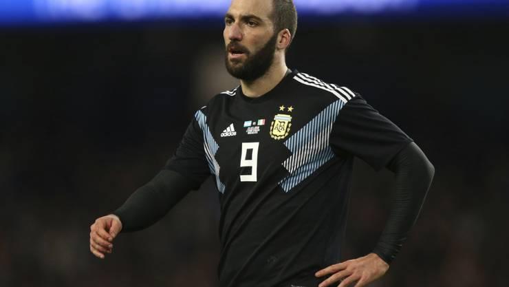 Gonzalo Higuain beendet seine Nationalmannschafts-Karriere nach 75 Länderspielen
