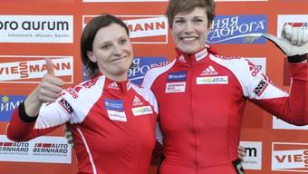 Podestplatz für Fabienne Meyer (l.) und Hanne Schenk